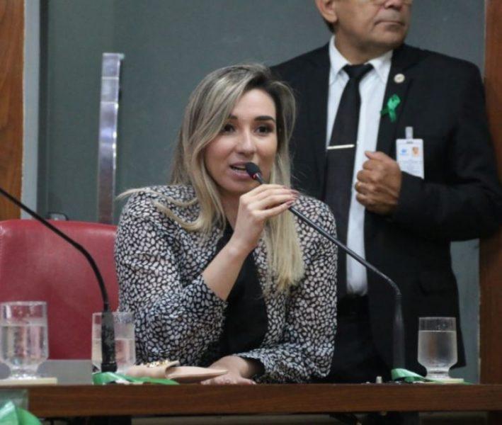 Vaulene Rodrigues, é a representante da Paraíba no evento das Mulheres Progressistas, em Brasília