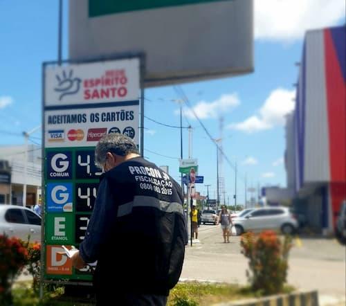 Procon-JP volta a fiscalizar postos de combustíveis