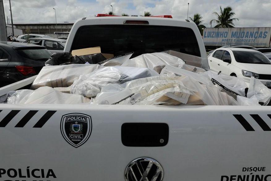 2,5 toneladas de drogas apreendidas, avaliadas em R$ 10 milhões, são incineradas pela Polícia Civil da Paraíba