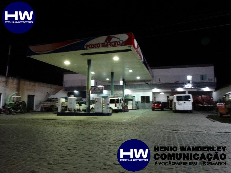 Posto de combustível é assaltado em Pombal; Veja imagens