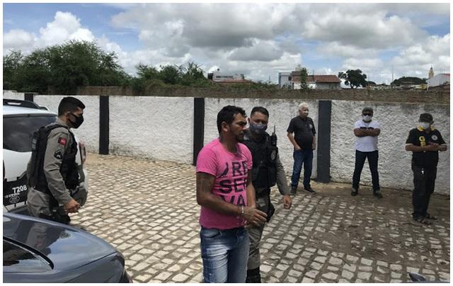 Fugitivo da Justiça de Pombal é preso em Cajazeiras após investigação