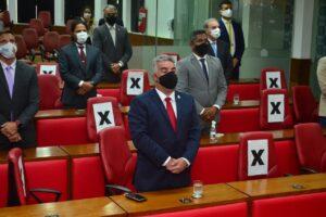 Vereador Guga de Jaguaribe atinge marca de 100 proposituras em seu primeiro mês de mandato, em João Pessoa