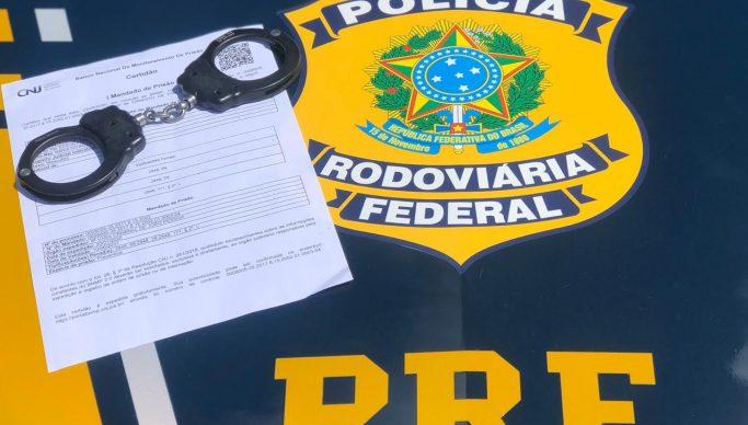 Foragido da justiça por estupro e tortura é preso em ação da PRF e Polícia Civil