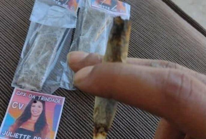 Criminosos usam fotos de Juliette em propaganda de venda de drogas no RJ