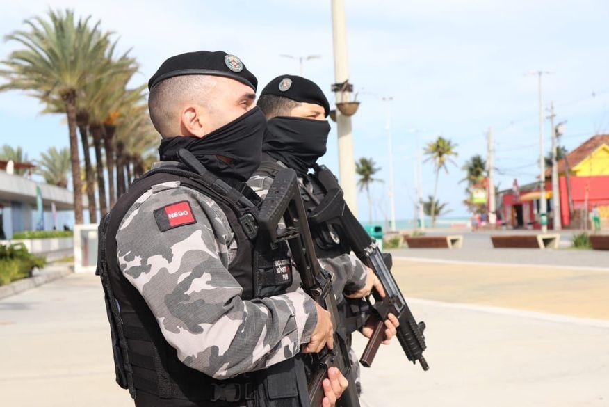 Paraíba começa a vacinar profissionais das forças de segurança contra covid-19 a partir de amanhã
