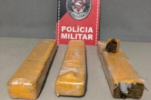 Polícia apreende droga que traficantes escondiam em lixeiro, na PB